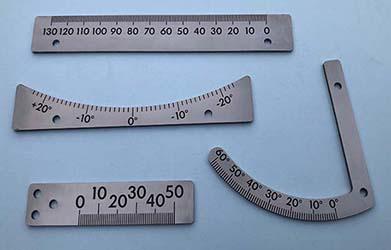 Laser Engraved Tool Gauges